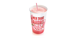 Milk Shake medium 0.5 liter voor €2.75