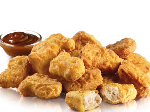 20 Chicken McNuggets voor €7.50