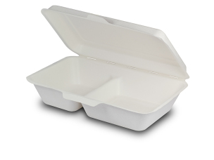 by using new plastic container every lunch